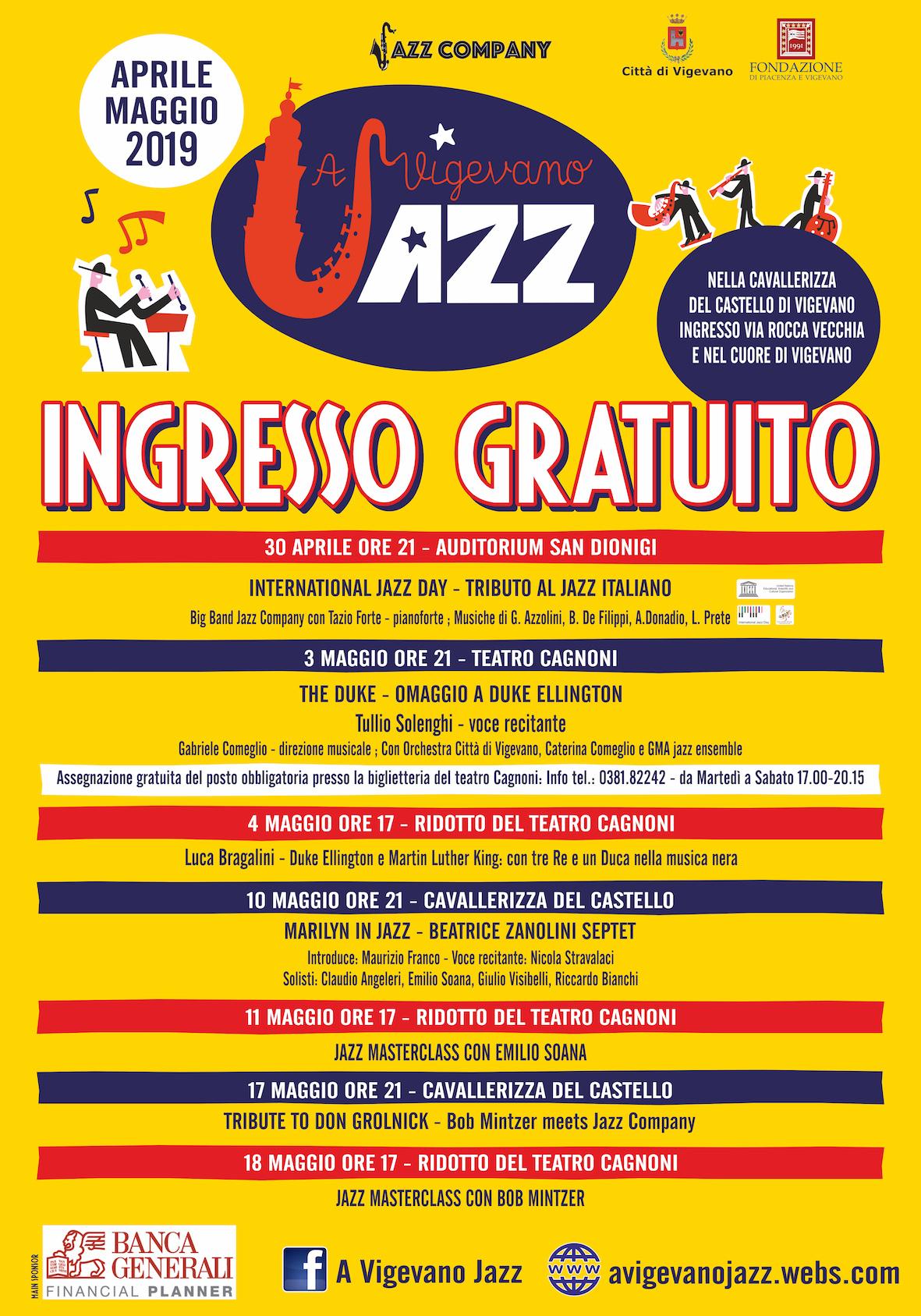 17d777de21cd Foto VIGEVANO  ritorna il Jazz Festival